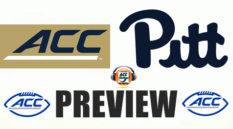 Football Preview Podcast Pitt