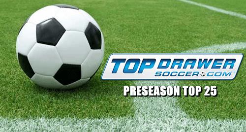 Soccer Top Drawer Preseason Top 25