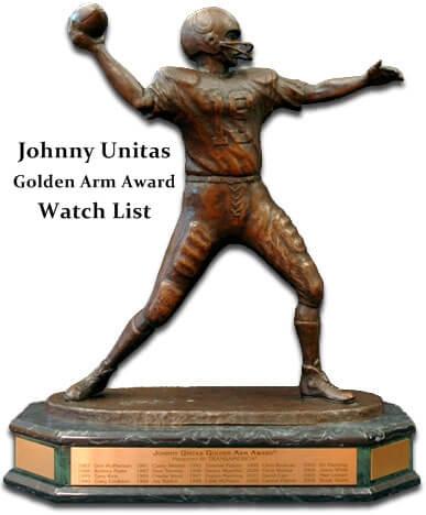 Johnny Unitas Golden Arm Award