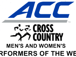 ACC Cross Country Performers