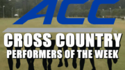 ACC Cross Country Performers of the Week.