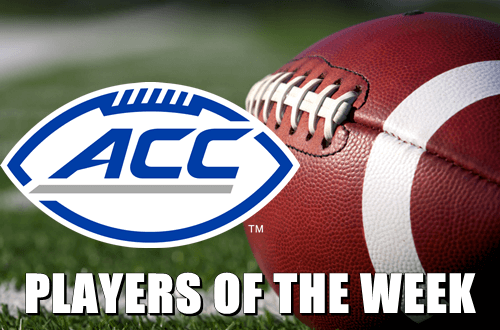 Football ACC Players Of The Week