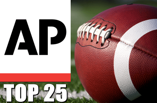 Football AP Top 25 Poll