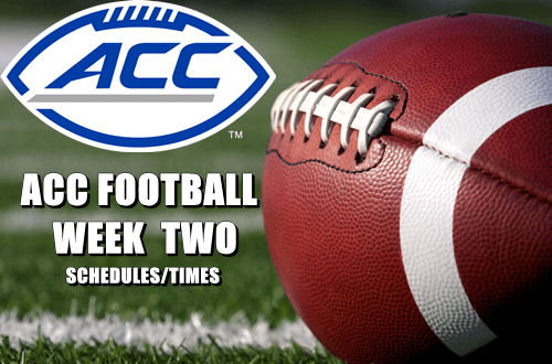 football-week-two-schedule
