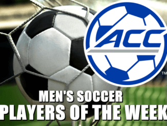 ACC Men's Soccer Offensive and Defensive Players of the Week