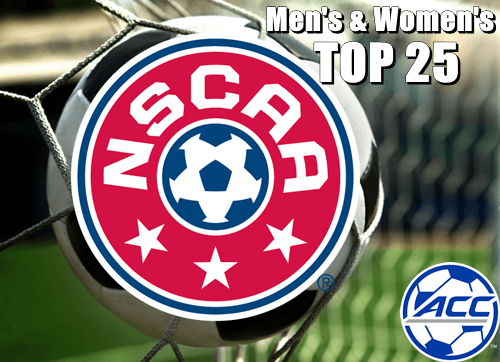 Soccer NSCAA Combined Top 25