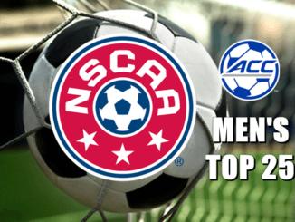 NSCAA Men's Soccer Top 25