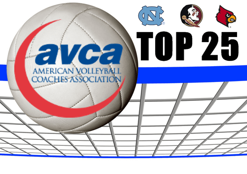 Volleyball AVCA Top 25