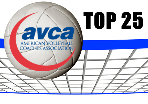 Volleyball AVCA Weekly Top 25