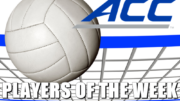 ACC Volleyball Players of the Week