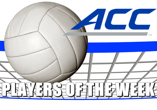 Volleyball Players Of The Week