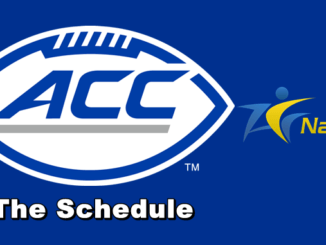 ACC Football Schedule