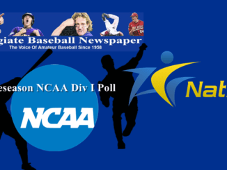 Collegiate Baseball Preseason NCAA Div I Poll
