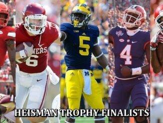 Jackson, Watson Named Heisman Finalists