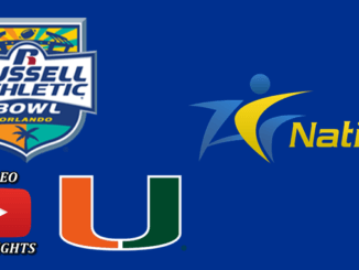 Miami Dominates Russell Athletic Bowl