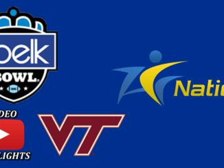 Virginia Tech Delivers Belk Bowl Win