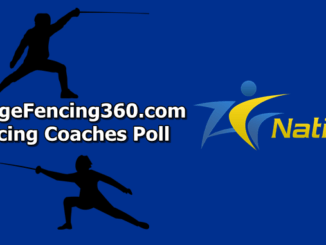 CollegeFencing360 Coaches Poll