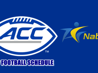 ACC Releases 2017 Football Schedule
