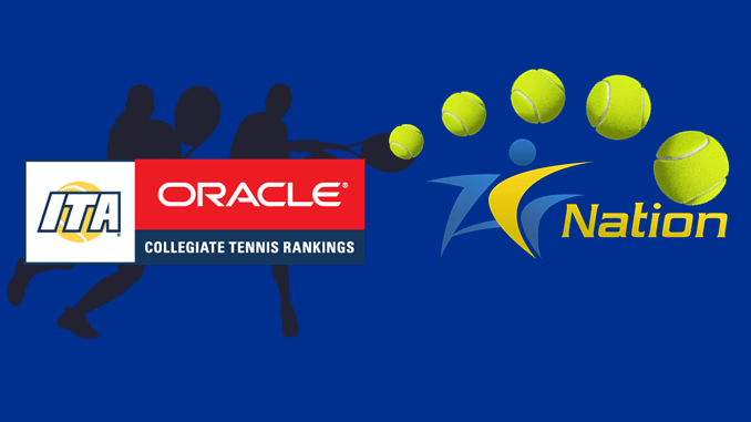 ITA College Tennis Rankings