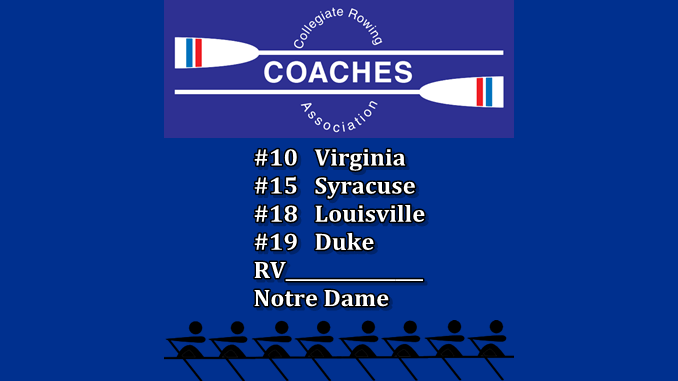 CRCA Rowing Top 20