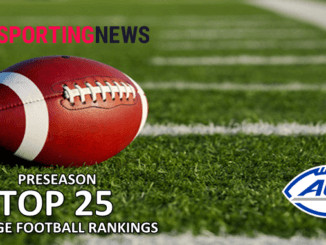 Preseason College Football Rankings