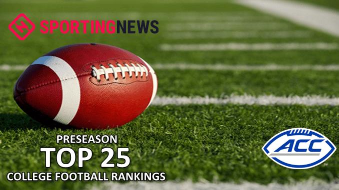 Preseason College Football Rankings