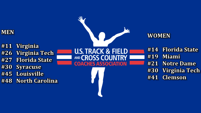 USTFCCCA Outdoor Top 50