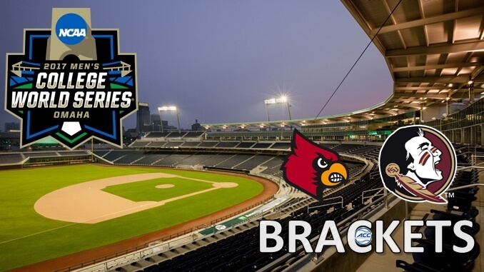 College World Series Brackets