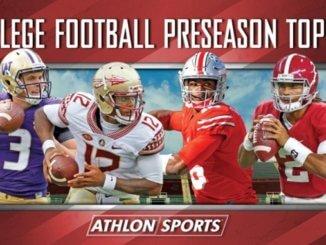 Football Preseason Top 25