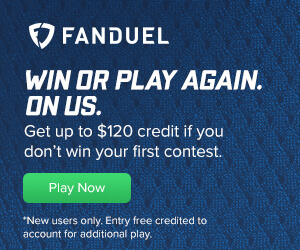 FanDuel Entry Fee Credit