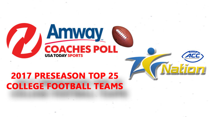 Amway Coaches Poll