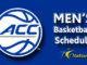ACC Men's Basketball Schedule