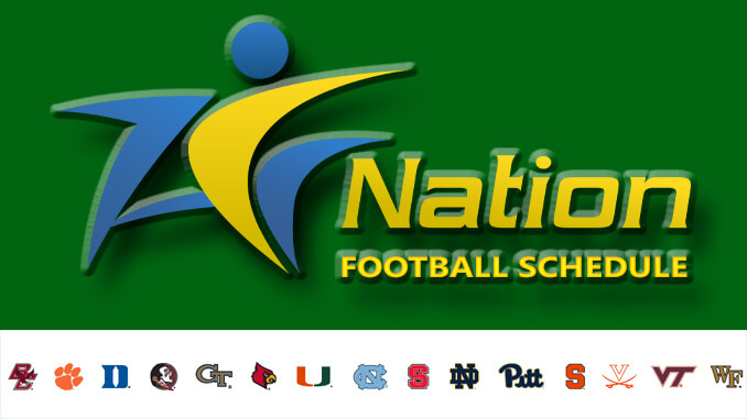 ACC Nation Football Schedule